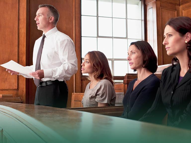 Osoby nasali sądowej